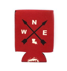 Louisiana Compass Koozie