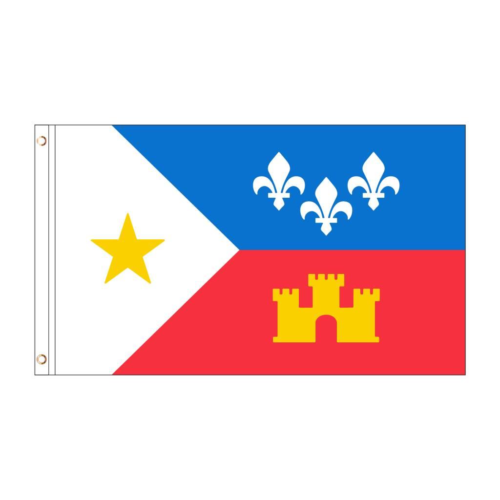 3X5 Acadiana Flag