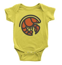 Crawfish Icon Onesie