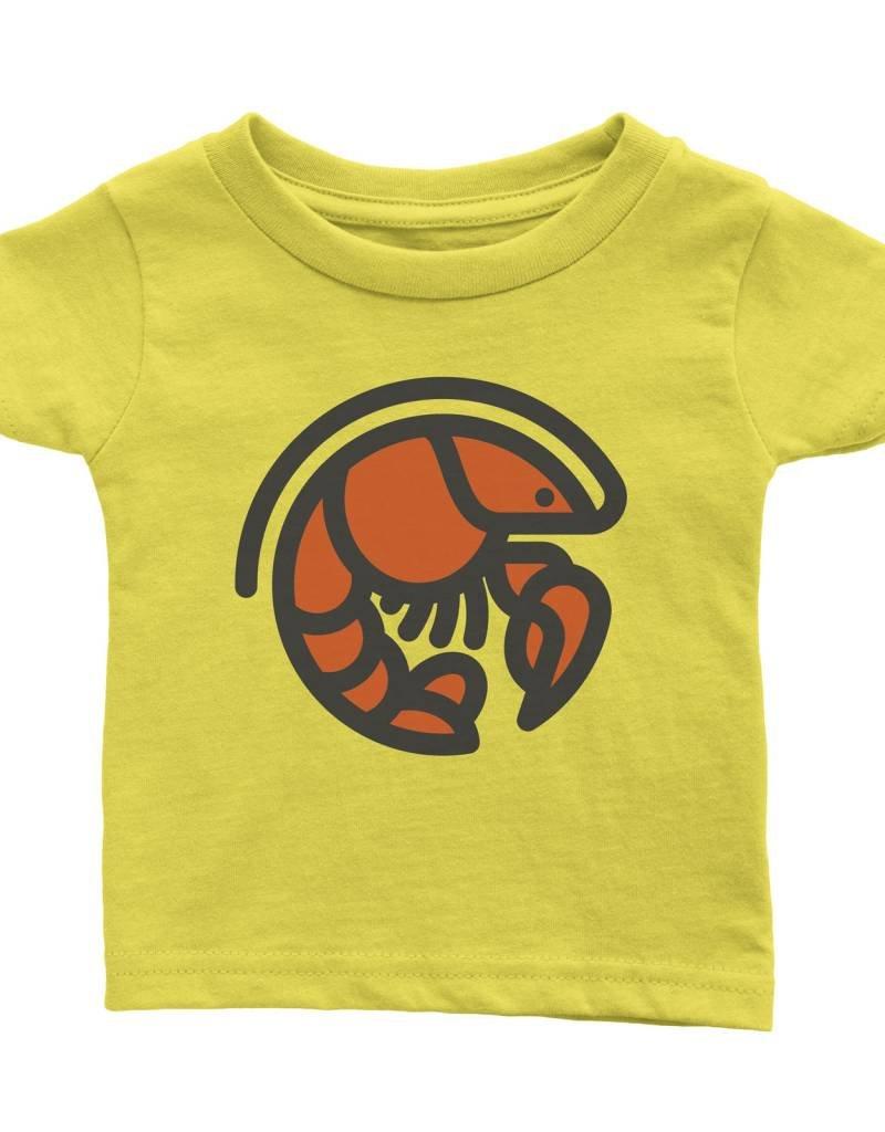 Crawfish Icon Toddler Tee