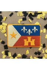 Retro Acadian Flag Patch