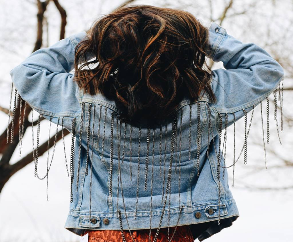 Chain Fringe Jacket