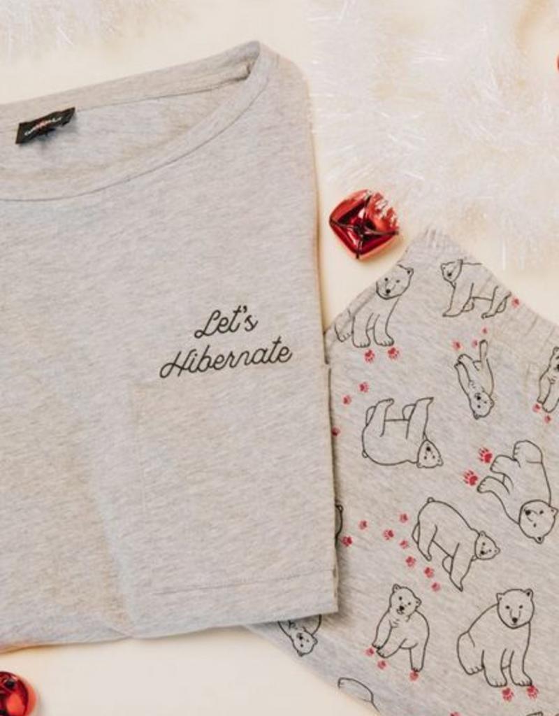 Cosabella Holiday L/S Tee and Pant Pj SET - Cosabella