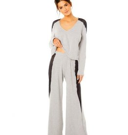 Cosabella Ferarra Sleep Set LS Top and Pant - TWO PIECE SET