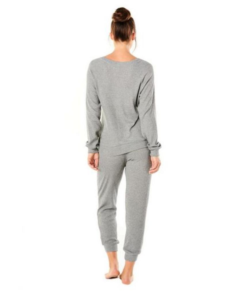 Cosabella Demi Scoopneck Shirt and Jogger PJ Set - Cosabella TWO PIECE SET