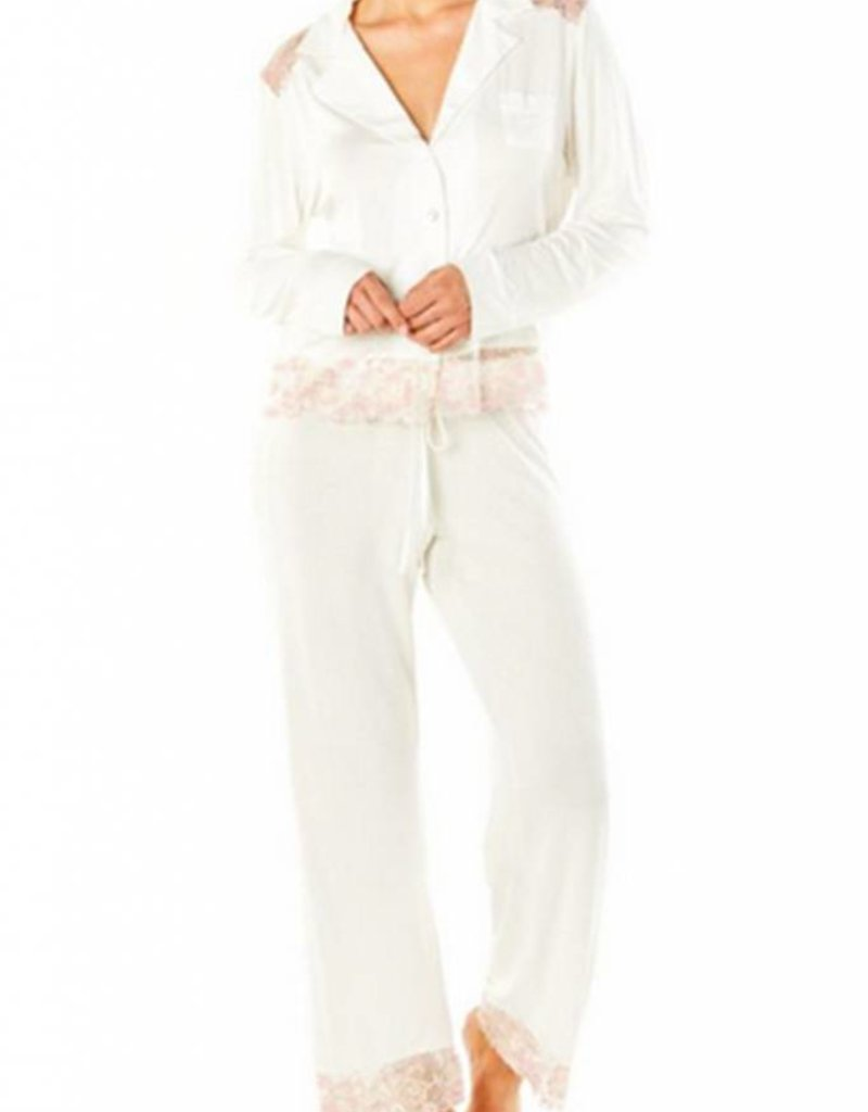 Cosabella Savona Long Sleeve Top and Pant -Cosabella - TWO PIECE SET