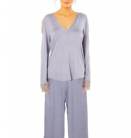 Cosabella Pret a Porter Pajama set LS Top and Pant - TWO PIECE SET