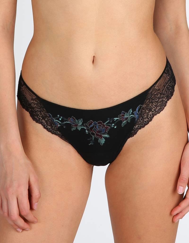 Marie jo Dahlia Floral Emboidered Thong