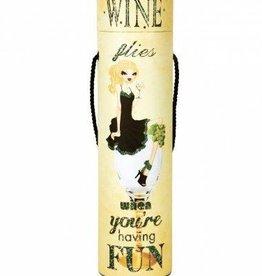 Wine Flies Blinking Wine Box