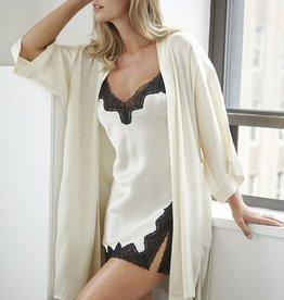 Samantha Chang Samantha Chang Silk Kimono - Ivory O/S