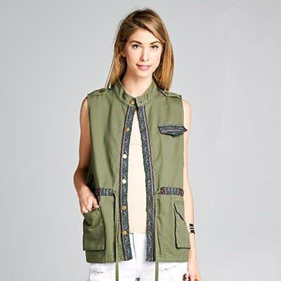- Jacquard Vest