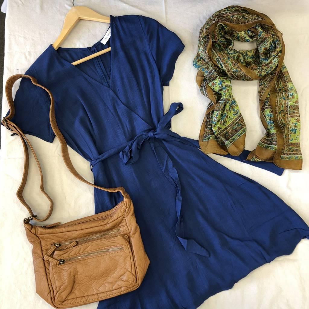 - Short Wrap Dress