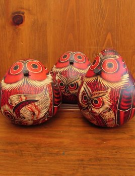 Pedro Osores Owl Gourd