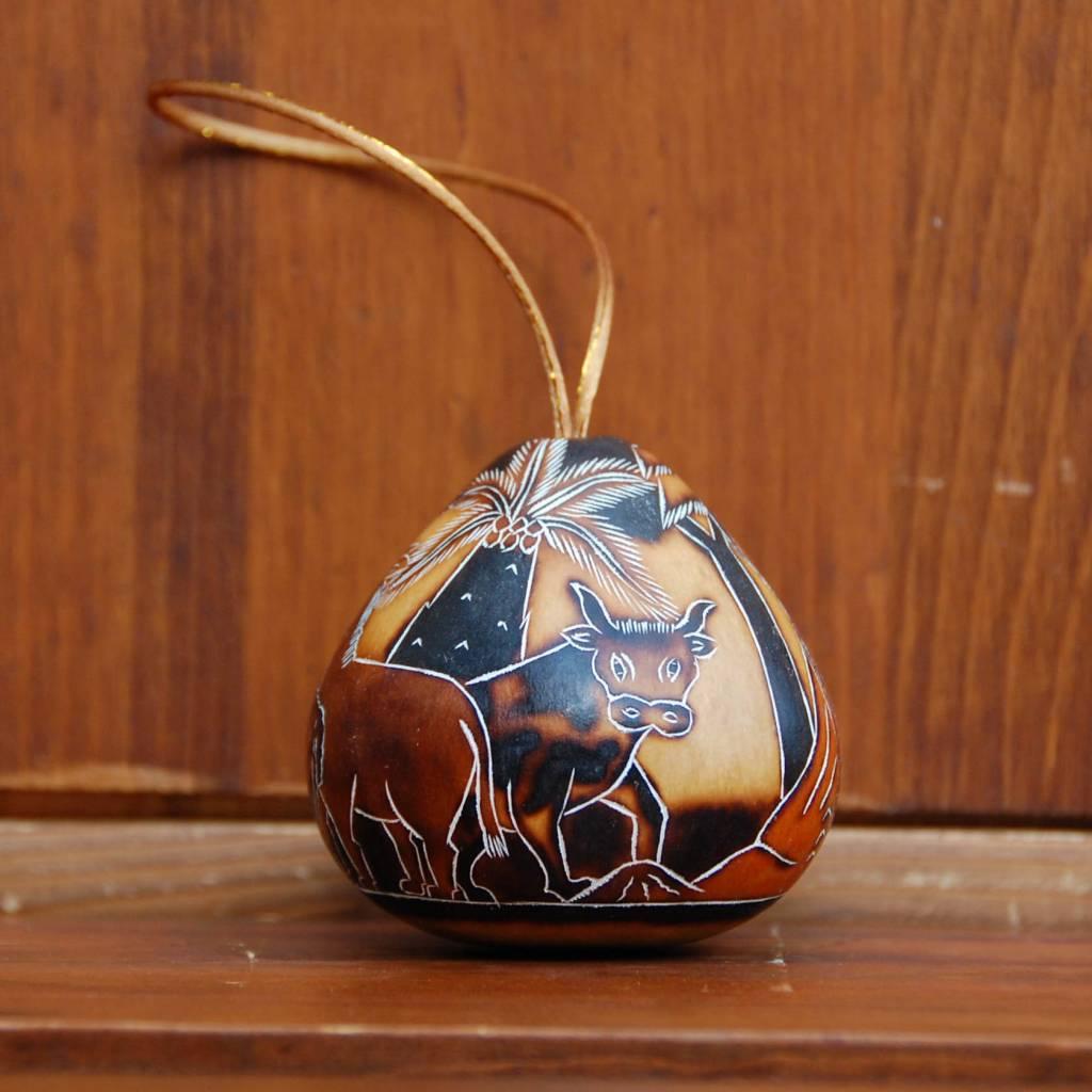 Pedro Osores Quemado Nativity Ornament
