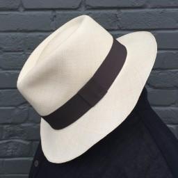 8a67edfe3872d Panama Hats Fino Montecristi Blocked - Scarlett Begonia