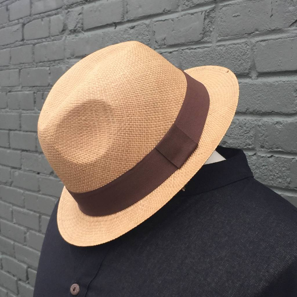 Panama Hats Snap Brim Hat
