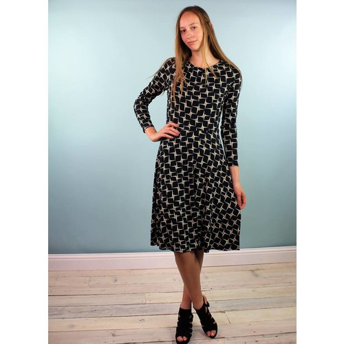 Emily & Fin Eli Dress - Geo Star