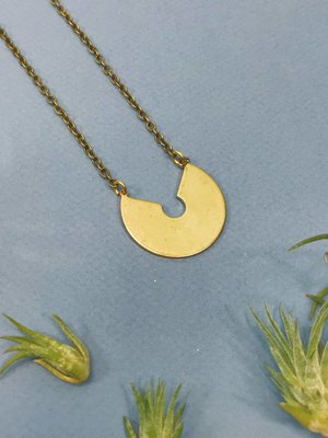 Nicole Weldon Medallion Necklace