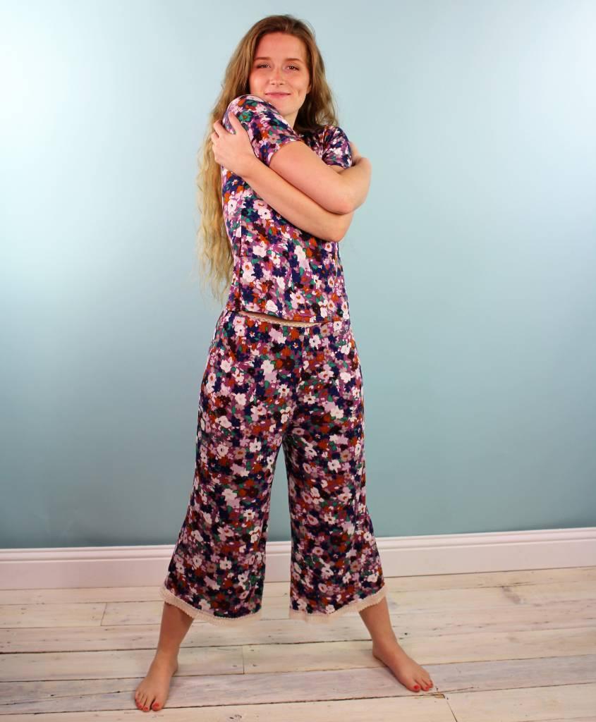Sarah Bibb Hailey PJ Set - Viola