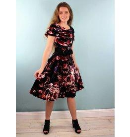 Sarah Bibb Gina Dress - Winterbloom Velvet
