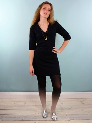 Sarah Bibb Heather Tunic - Deepest Navy