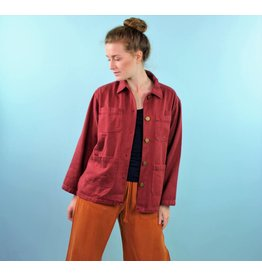 BackBeat Utility Jacket - Wino