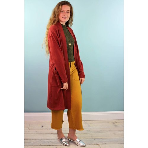 BackBeat Cozy Duster - Wino