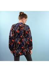 Traffic People Kimono Jacket - Lazo