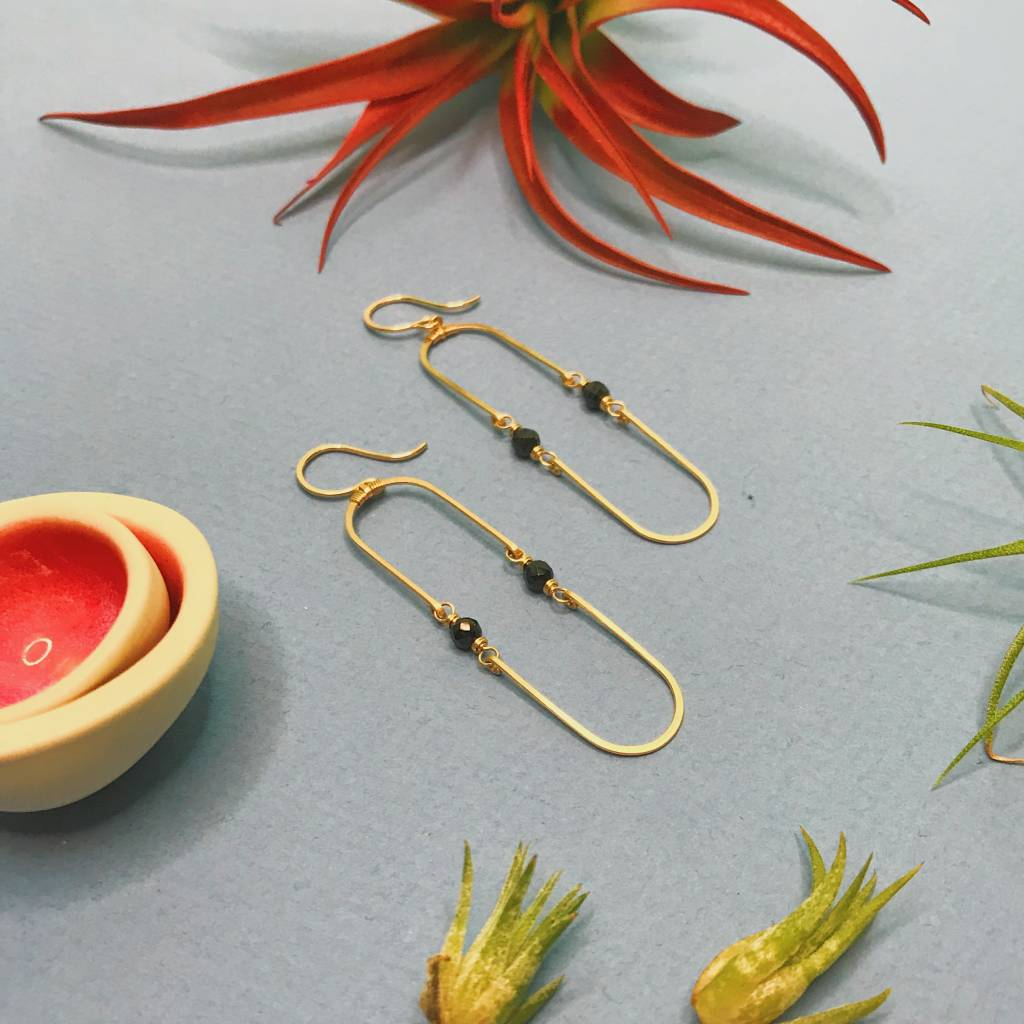 Amy Olson Double Hinged Earrings