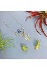 Amy Olson Fringe Necklace - Lapis
