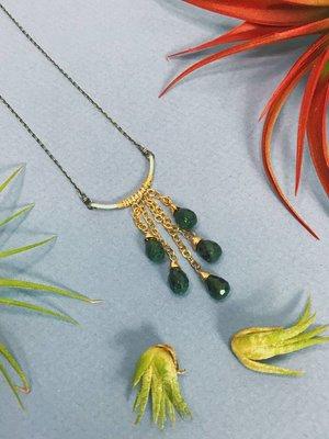Amy Olson Sylvia Necklace - Emerald