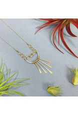 Amy Olson Fringe Swing Necklace