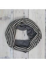 Sarah Bibb Single Loop Infinity Scarf - Tiny/Stripy