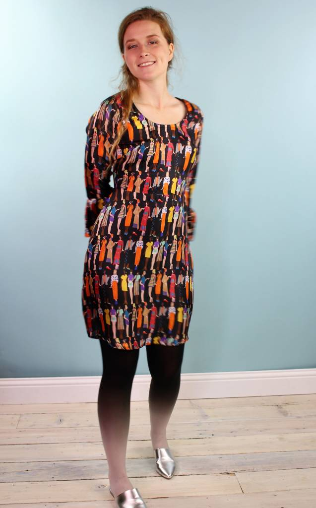 One Imaginary Girl Millie Dress - Illustration