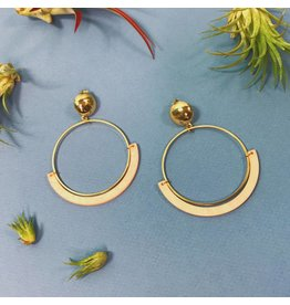 Etta Pale Hoops