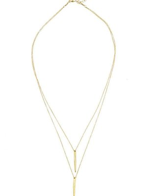 Katie Dean Jewelry Double Dipping Necklace