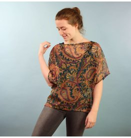 Sarah Bibb Sarah Top by Sarah Bibb - Winter Paisley