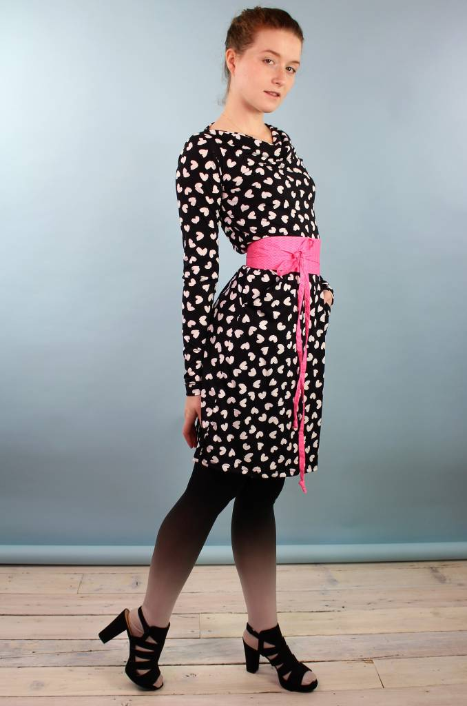 Sarah Bibb Long Sleeve Jenni Dress - Petal