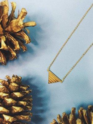 Nicole Weldon Pyramid - Brass