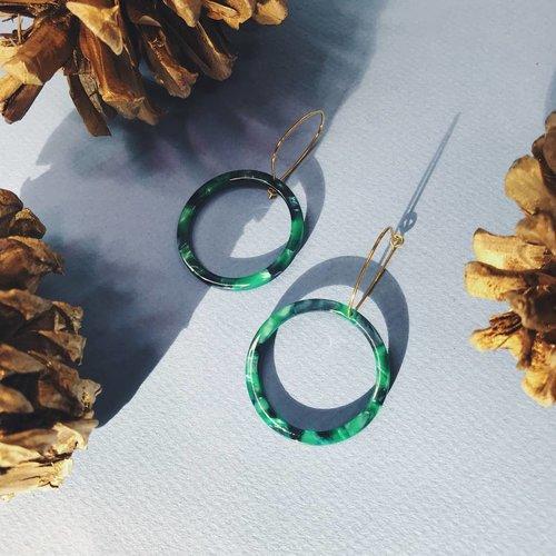 Nicole Weldon Cirq Verde Earring