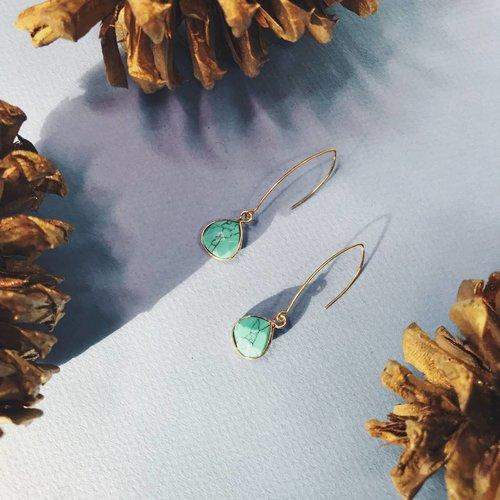 Nicole Weldon Howlite Earrings