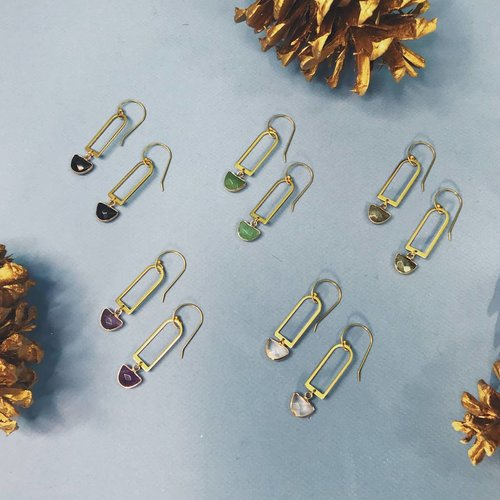 Nicole Weldon Orbi Earrings - Multiple Colors