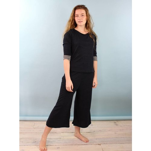 Sarah Bibb Hailey PJ Set - Midnight