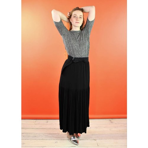 Sarah Bibb Moreau Maxi Skirt - Noire