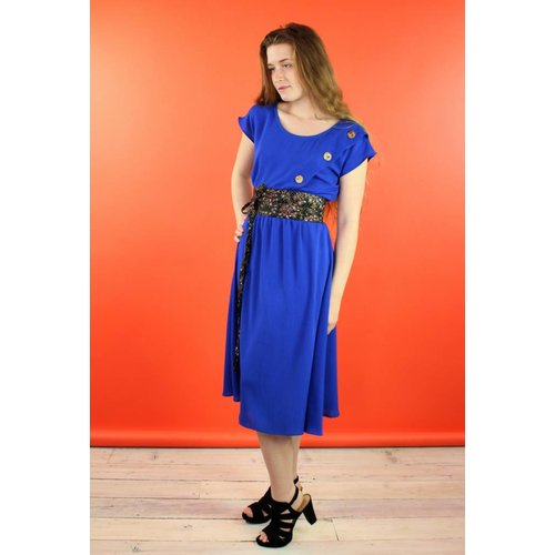 Sarah Bibb Magnolia Dress - Cobalt