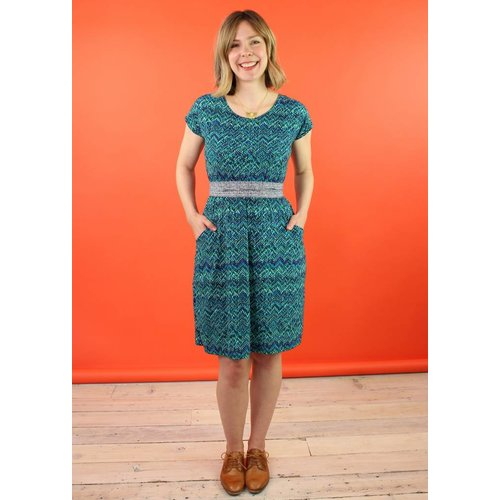 Sarah Bibb Jamie Dress -  Siren