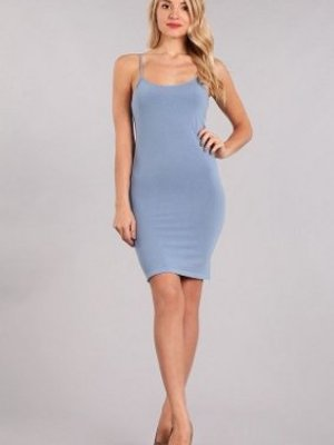 M Rena Stretch Slip by M Rena -Blue Shadow