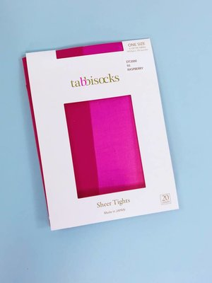 Tabbisocks Zokki Sheer Tights - Raspberry