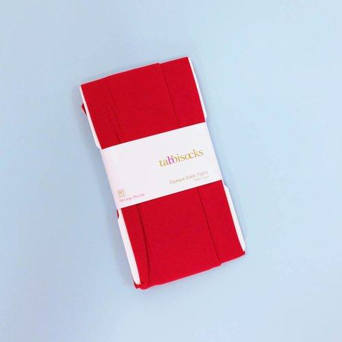 Tabbisocks KiKi Opaque Tights - Red