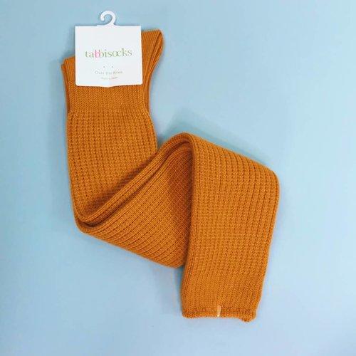 Tabbisocks OTK Socks - Mustard